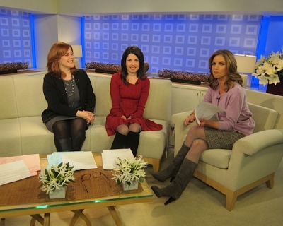 Meg on the TODAY show